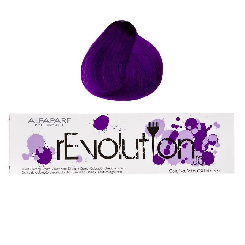ALFAPARF - REVOLUTION ORIGINALS DIRECT COLORING CREAM 90ML - RICH PURPLE